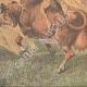DETALJER 04   En ko förvånad av ett flygplan på en gräsmarker i USA - 1910