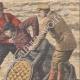 DETAILS 04 | A man crosses Niagara Falls in a barrel - 1910
