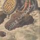 DETAILS 06 | A man crosses Niagara Falls in a barrel - 1910