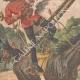 Einzelheiten 02 | Deutscher Offizier von Windmühle getötet im Großbeeren - Deutschland - 1910