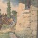 Einzelheiten 04 | Deutscher Offizier von Windmühle getötet im Großbeeren - Deutschland - 1910