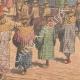 DETTAGLI 05 | Morte di Chulalongkorn, Re del Siam - Cerimonia alla Pagoda - Siam - 1910