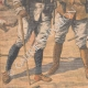 DETALJER 02   Franska soldater som dödades i ett eldöverfal i Bir Taouil - Tchad - 1910