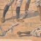 DETALJER 05   Franska soldater som dödades i ett eldöverfal i Bir Taouil - Tchad - 1910
