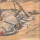 DETALJER 06   Franska soldater som dödades i ett eldöverfal i Bir Taouil - Tchad - 1910