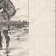 Einzelheiten 04 | Ein rauchen Mann in Regenkleidung (Japan)