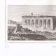 DÉTAILS 03 | Vue de Dendérah - Tentyris - Ruines - Temples (Egypte)