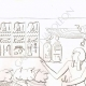 Einzelheiten 02 | Skulpturen im Luxor-Tempel (Ägypten)