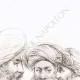 DETAILS 02 | Hoofd van Muley Salameh, Broer van de Koning van Marokko - Portretten van Turks
