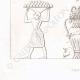 Einzelheiten 03   Gemälde in den Gräbern der Könige von Theben (Ägypten)