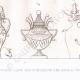 Einzelheiten 04   Gemälde in den Gräbern der Könige von Theben (Ägypten)