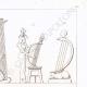 Einzelheiten 05   Gemälde in den Gräbern der Könige von Theben (Ägypten)