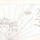 DETALLES 02 | Mapa antiguo de la batalla naval de Aboukir - 1798 (Egipto)