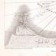 DETALLES 03 | Mapa antiguo de la batalla naval de Aboukir - 1798 (Egipto)