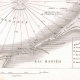 DETALLES 04 | Mapa antiguo de la batalla naval de Aboukir - 1798 (Egipto)