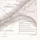 DETALLES 06 | Mapa antiguo de la batalla naval de Aboukir - 1798 (Egipto)