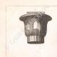 Einzelheiten 01 | Ägyptische Kapitelle - Altes Ägypten - Architektur (Ägypten)