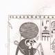 DÉTAILS 01 | Manuscrit trouvé dans l'enveloppe d'une momie (Egypte)