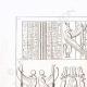 DETALLES 01 | Frescos - Arte del Antiguo Egipto (Egipto)