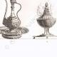 DETALLES 06 | Utensilios egipcios - Arte egipcio - Vajilla (Egipto)