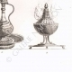 DETALLES 08 | Utensilios egipcios - Arte egipcio - Vajilla (Egipto)