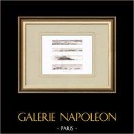 Vista de las costillas - Cerdeña - Marettimo - Campaña Napoleónica en Egipto