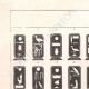 Einzelheiten 01   Ägyptische Hieroglyphen - Kartuschen der Könige und Königinnen von Ägypten