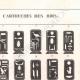 Einzelheiten 02   Ägyptische Hieroglyphen - Kartuschen der Könige und Königinnen von Ägypten