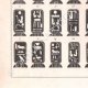 DETAILS 03 | Egyptian hieroglyphics - Cartouches of kings and queens of Egypt