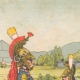 DETALJER 01   7:e Dragoner Regiment i Sélestat - Elsass - Frankrike (1825)