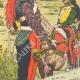 DETALJER 02   7:e Dragoner Regiment i Sélestat - Elsass - Frankrike (1825)