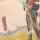 DETTAGLI 02 | Chevau-légers e carabinieri a Strasburgo - Alsazia - Francia (1813-14)