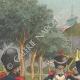 Einzelheiten 01 | Sappeure der Nationalgarde - Straßburg - Elsass - Frankreich (1848)