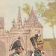 DETALLES 01 | Gendarmería - Regimiento de Pioneros en Estrasburgo - Alsacia - Francia (1819)