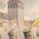 Einzelheiten 01   Schweizer-Regiment von Steiner in Strassburg - Elsass - Frankreich (1818)
