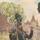 DETTAGLI 01 | Carabinieri a Strasburgo - Alsazia - Francia (1843)