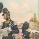 DETTAGLI 03 | Carabinieri a Strasburgo - Alsazia - Francia (1843)