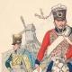 Einzelheiten 01   Russische Husaren und Drachen - Russische Armee - Militärkleidung (1807)