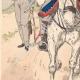 Einzelheiten 02   Russische Husaren und Drachen - Russische Armee - Militärkleidung (1807)