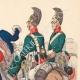Einzelheiten 03   Russische Husaren und Drachen - Russische Armee - Militärkleidung (1807)