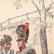 DETALJER 03 | Royal Bavarian Artillery - Militär uniform - Tyskland (1812)