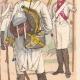 DÉTAILS 04 | Infanterie de Saxe - Allemagne - Uniforme militaire (1802)