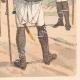DÉTAILS 06 | Infanterie de Saxe - Allemagne - Uniforme militaire (1802)
