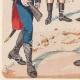 DETAILS 05 | Nationale Garde van het Westfalia Koninkrijk - Rijn Confederatie - Militair Uniform (1812)