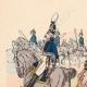 DÉTAILS 01 | Artillerie à cheval Prusse - Officier - Canonnier - Uniforme militaire (1805)