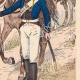 DÉTAILS 04 | Artillerie à cheval Prusse - Officier - Canonnier - Uniforme militaire (1805)