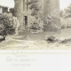 DÉTAILS 04   Vue de Machecoul et ruines du château - Loire-Atlantique (France)