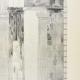 Einzelheiten 05 | Ansicht von den Parthenon - Opisthodom - Peristyle Decke - Kapitell (Griechenland)