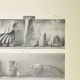 Einzelheiten 05 | Ansicht von den Parthenon - Peristyl und Säulenhalledecke (Griechenland)