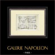 Partenone - Fregio ionico della Cella - Lato sud - Pl. 97